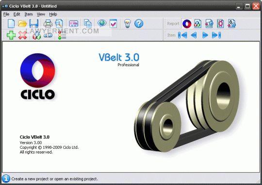 Ciclo VBelt Screenshot