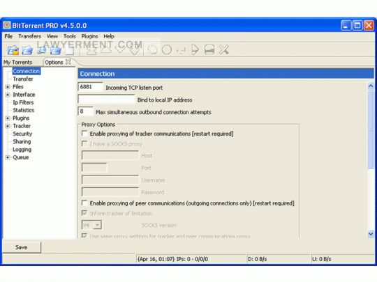 BitTorrent PRO Screenshot