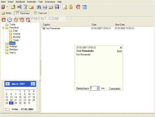 Portable Notes Screenshot