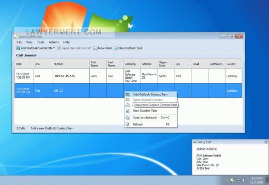 SmartCallMonitor Screenshot
