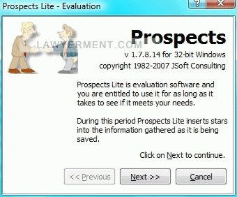 Prospects Lite Screenshot