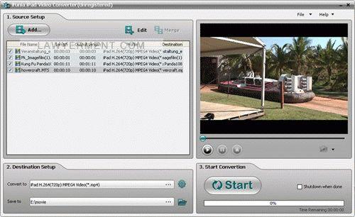 iFunia iPadConverter Suite Screenshot