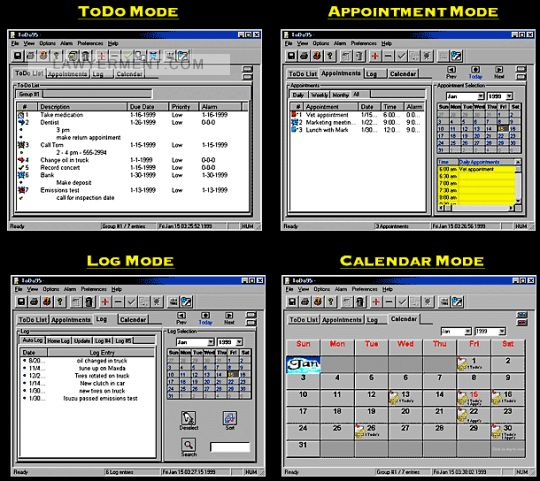 ToDo95 Screenshot