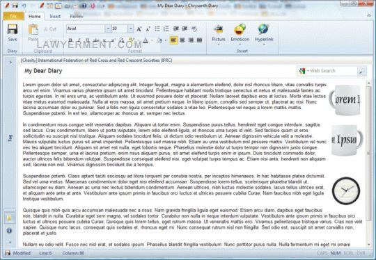 Chrysanth Diary Screenshot