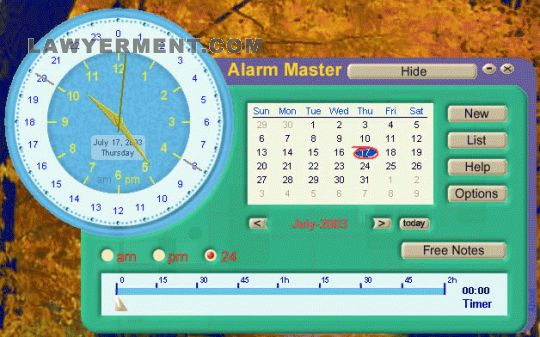 Alarm Master Screenshot