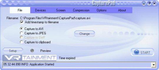 CapturePad Screenshot