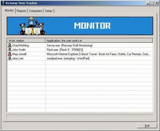 Time Tracker Screenshot