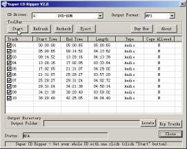 Super CD Ripper Screenshot