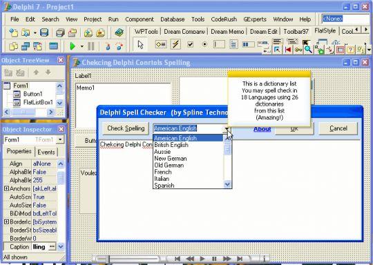 Delphi Spell Checker Screenshots - Free Software Download - Lawyerment