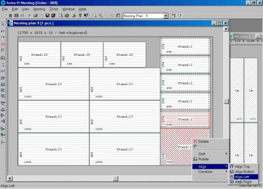 Astra R-Nesting Screenshot