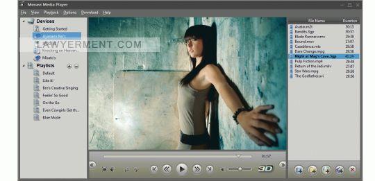 Movavi Media Player Screenshot