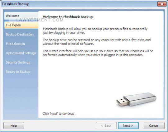 Flashback ICQ Backup Screenshot