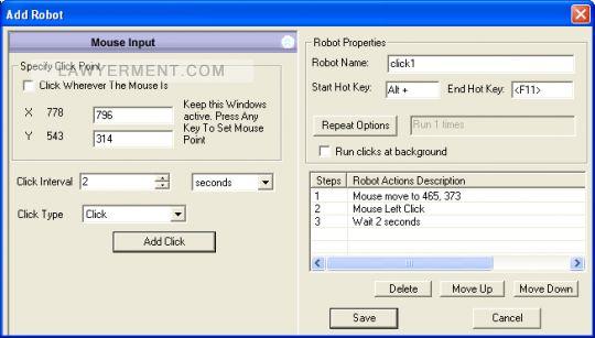 Asoftech Auto Clicker Screenshot