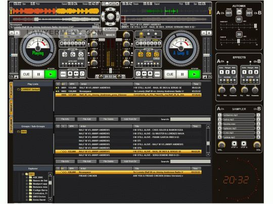 Dj ProMixer Full Screenshot