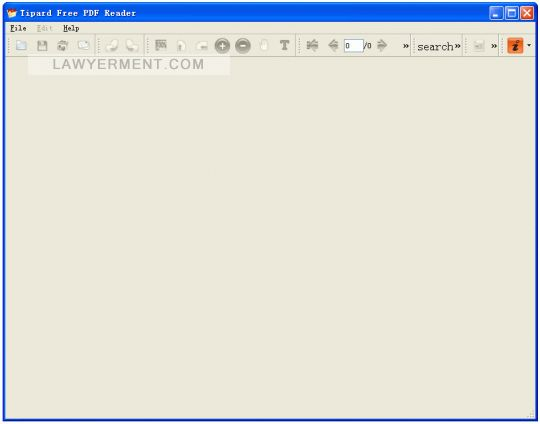 Tipard Free PDF Reader Screenshot