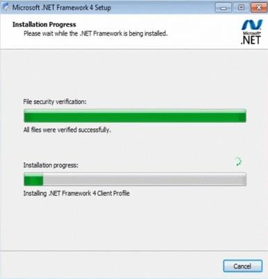 Microsoft .NET Framework 4 Screenshot