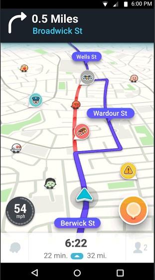 Waze Screenshots - Free Software Download - Lawyerment