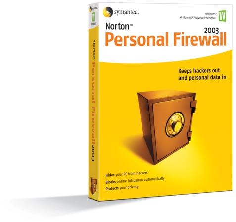 Norton Personal Firewall Screenshot