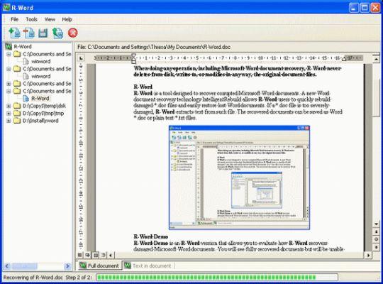 R-Word Screenshot