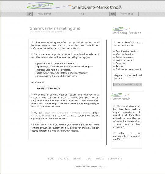A Shareware Marketing Primer Screenshot