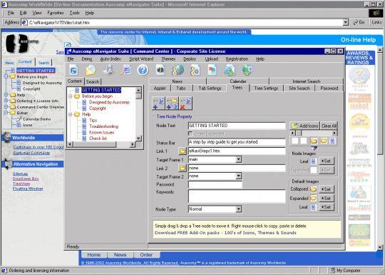 Auscomp eNavigator Suite Screenshot