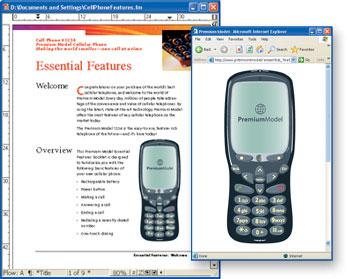 Adobe Framemaker Screenshot