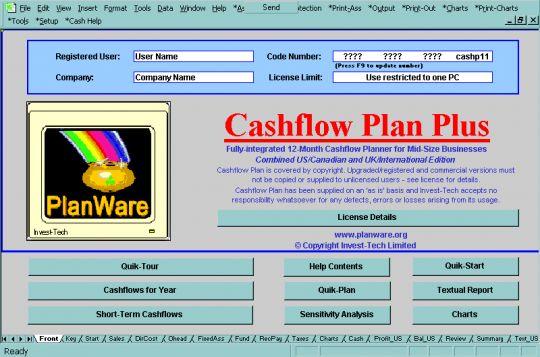 Cashflow Plan Micro Screenshot