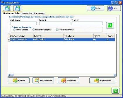 GenCb128 Screenshot
