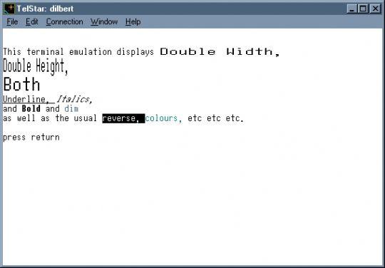 TelStar Screenshot