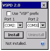 Virtual Serial Ports Driver Mobile Screenshot