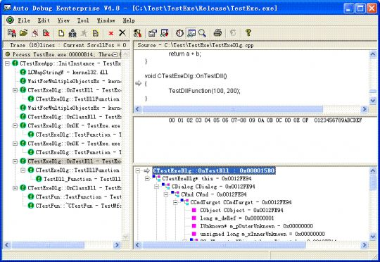 Auto Debug for Windows Screenshot