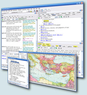 SwordSearcher Bible Software Screenshot