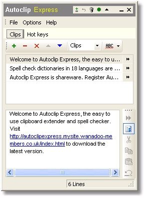 Autoclip Express Screenshot