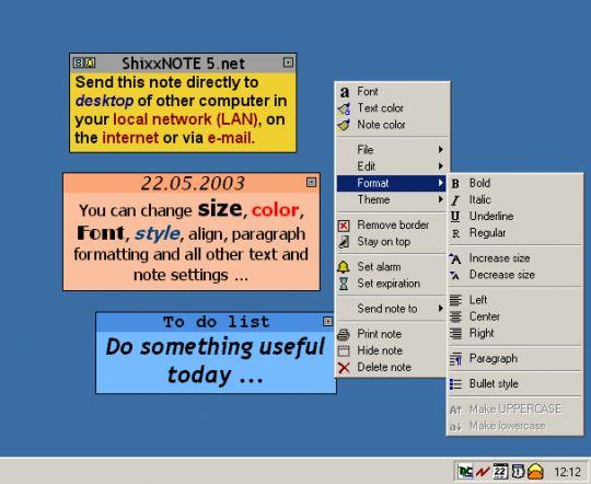 ShixxNOTE Lite Screenshot