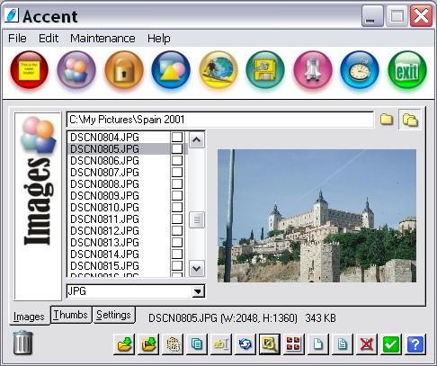 Accent Screenshot