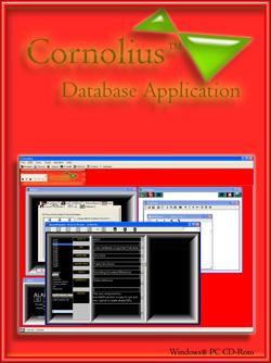 Cornolius Database Application Screenshot