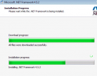 Microsoft .NET Framework 4.5.2 Screenshot