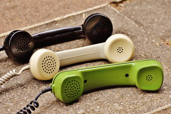 Fixed Line Telephone Handset