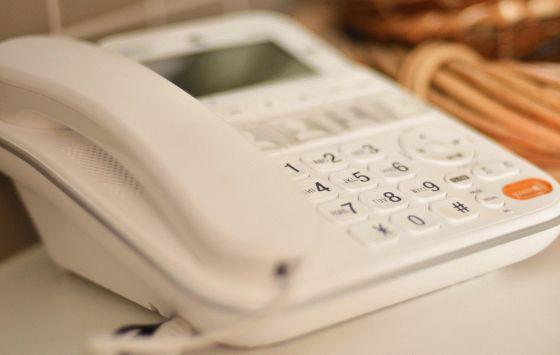 Modern Fixed Line Telephone